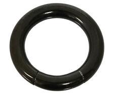 Segmentring - 2,5 mm aus schwarzem Chirurgenstahl - Smooth Closure Ring Piercing
