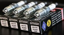 4X Brisk GR17YS Spark Plug Lincoln Aviator Blackwood Continental LS Mark VIII 8