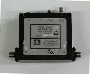 General Microwave D1968B absorptive modulator 2 - 18 GHZ