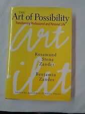 """""""THE ART OF POSSIBILITY"""" - BENJAMIN ZANDER AUTOGRAPHED BOOK - HARD COVER - NICE"""