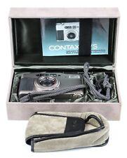 CONTAX T VS  Lens Zeiss Vario Sonnar  3.5-6.5/28-56mm T*  Mint Box