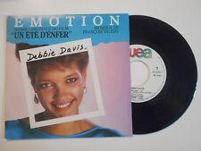 DEBBIE DAVIS : EMOTION ♦ 45 TOURS PORT GRATUIT ♦