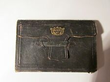 Beautiful Leather 1871 Journal Handwritten Antique Diary