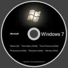 Windows 7 w/SP1 (11 Versions 1 Disc) - Incl. Enterprise Version - Smooth As Silk