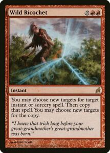 Wild Ricochet Lorwyn HEAVILY PLD Red Rare MAGIC THE GATHERING MTG CARD ABUGames