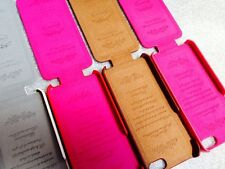 Original Leather Flip Case For Iphone 5,5s,White/red/brown/pink Color.USA Seller