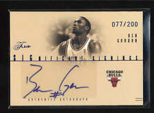 BEN GORDON 2004/05 04/05 FLAIR SIGNIFICANT SIGNINGS ROOKIE AUTO #077/200 AB5127