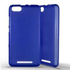 Housse Coque Etui Wiko Lenny 3  silicone gel - Bleu