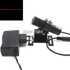 Adjusted 650nm 40mw Red Focus Line Laser Diode Module w/ 5V Adapter & Heatsink