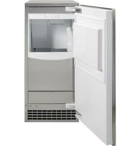 """GE UCC15NJII Panel Ready 15"""" Ice Maker- Gourmet Clear Ice"""