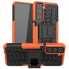 Samsung Galaxy S21 Hülle Handy Tasche Handyhülle Back Cover Case Outdoor Orange