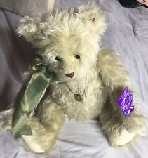 """Annette Funicello Collectible Teddy Bear Beige Jointed 17"""""""