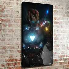 "12""x22""Resolute Iron Man HD Canvas prints Painting Home decor Photos Wall art"