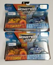 Fire & Ice SPECIAL WALMART Edition MEGALODON - Lot of [2] Packs MONSTER JAM