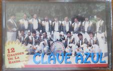 Banda Clave Azul - 12 Grandes - Cassette New! Sealed! Fonovisa 1994