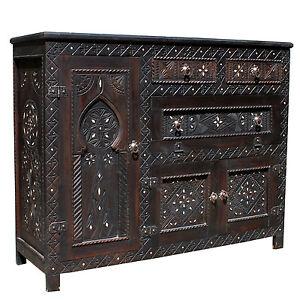 Arabic Dresser Handarbeit Oriental Moroccan Wardrobe Adimat