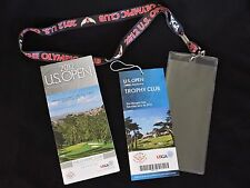 2012 U.S. Open Ticket & Lanyard Saturday June 16 The Olympic Club San Francisco