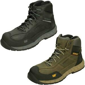 Mens Caterpillar Lace Up Composite Toe Safety Boots STREAMLINE MD L CT