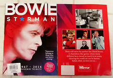 DAVID BOWIE Souvenir Tribute 1947-2016 STARMAN Ziggy Stardust RARE ANGIE Photos