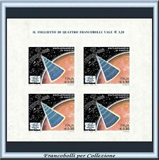 2005 Repubblica Foglietto Partecipazione Italiana Esplorazione Marte n. 41 **