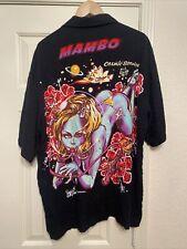 Mambo Loud Shirt ROCKIN JELLY BEAN Erostika ART ALOHA Cosmic Service Luna XL