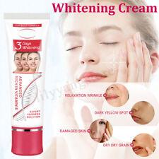 3 Days Face Whitening Cream for Dark Skin Bleaching Moisturizing Lotion 25g