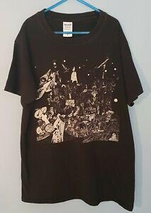 Rudimentary Peni DEATH CHURCH Shirt Black (Small)