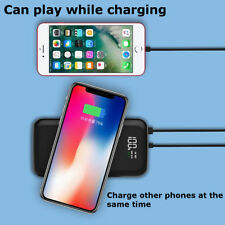 10000mAh 3 in 1 Wireless Charging Power Bank Fast Charge Mobile Power Charger