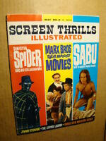 SCREEN THRILLS ILLUSTRATED 8 THE SPIDER ARABIAN NIGHTS FAMOUS MONSTERS 1964