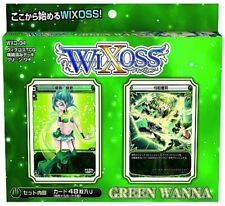 TAKARA TOMY 22123 AIR WXD-04 TCG Card WIXOSS DECK JAPANESE GREEN WANNA