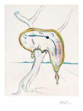 Tearful Soft Watch Limited Edition Giclee Salvador Dali Art Print 19x15