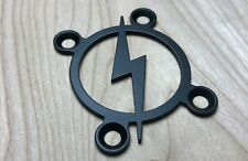 BOLT Neck Plate for your Guitar or Bass - Industrial Black