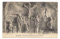 brantome  sculpture des grottes intérieures de l'abbaye