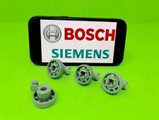 4 Stk. Korbrollen Rollen Geschirrkorb oben Bosch Constructa Neff Siemens Lady