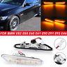 LED Side Marker Turn Signal Light Indicators Amber Lamps For For BMW E82 E60 E90