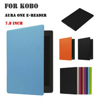 Magnetic Ultra Thin Leather Case Skin Cover For Kobo Aura One e-Reader 7.8 Inch