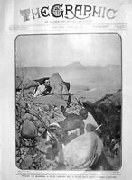 Old Antique Print 1906 Natal Caribineer Native Scout Inspector Hunt Ixopo 20th