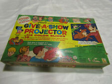 1965 Kenner Give A Show Projector & Slides Complete Original Box Flintstones HB
