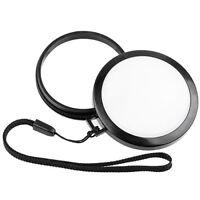 Mennon 72mm White Balance Lens Cap WB Filter Mount for Canon Nikon Sony Camera