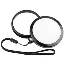 Mennon 72mm White Balance Lens Cap WB Filter Mount for Canon Nikon Sony Camera