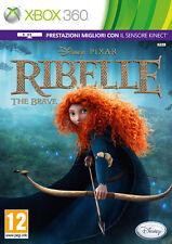 Ribelle-The BRAVE WALT DISNEY XBOX 360 IT importazione DISNEY INTERACTIVE