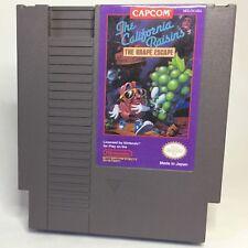 The California Raisins: The Grape Escape | NES Prototype reproduction repro