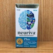 Neuriva Brain Performance 30 capsules Neuriva Plus Expires January 2021