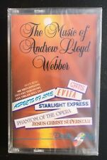 "Various Artists ""The Music Of Andrew Lloyd Webber"" NEW & SEALED Tape Cassette"