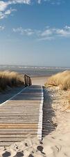 Türtapete Nordseestrand TT303 Größe 90x200cm  Strand Dünen Tapete Tür NEU
