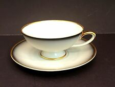 VINTAGE PLANKENHAMMER FLOSS BAVARIA GERMANY PORCELAIN TEA CUP and SAUCER