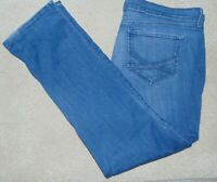 WOMENS *NYDJ* NOT YOUR DAUGHTERS STRAIGHT DENIM JEANS PLUS SIZE 22W 22  **