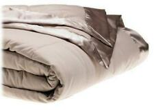 Microfiber Down Filled Full Queen Blanket Light Gray 90 x 90 by Aeolus Down