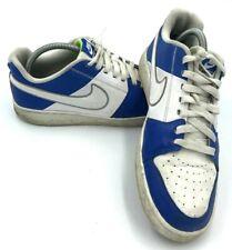Nike Backboard II Leather Sports Trainers UK 7 EU 41 487657-104 Blue White