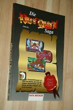 BUCH * Data Becker * Die King´s Quest Saga 1-4 !!